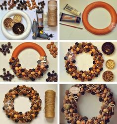 icu ~ Pin on Pine cone wreath ~ Best 12 Beautiful Fast & Easy DIY Pinecone Wreath ( Improved Version!) – A Piece Of Rainbow – SkillOfKing. Pine Cone Art, Pine Cone Crafts, Pine Cones, Autumn Crafts, Christmas Projects, Christmas Crafts, Christmas Ornaments, Diy Christmas Wreaths, Christmas Candles