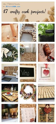 17 Crafty Cork Projects