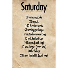 exercise plan - Google Search