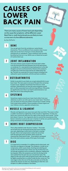 Causes of Lower Back Pain. http://www.bacrac.co.uk/