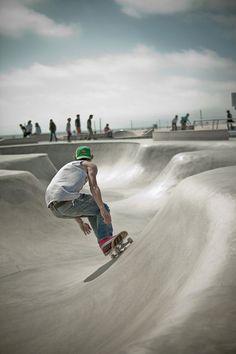 Venice Skate Park, LA. #thepursuitofprogression #Lufelive #skate #skateboard #LA #NY #skatepark