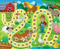 Lunarable Board Game Pet Mat for Food and Water, Rustic Farmhouse Agricultural Environment Animals Spring in Woods Nursery Design, Rectangle Non-Slip Rubber Mat for Dogs and Cats, Multicolor, Board Game Template, Printable Board Games, Farm Activities, Preschool Activities, Board Game Themes, Wood Nursery, Interactive Dog Toys, Farm Theme, Nursery Design