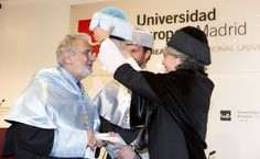 Plácido Domingo, opera singer and conductor, received an Honorary Doctoral Degree from Universidad Europea de Madrid (UEM).   Domingo is a world-renowned, multifaceted artist, recognized not only as one of the finest and most influential singing actors in the history of opera but also as a respected conductor. And as General Director of Los Angeles Opera and Washington National Opera, he is a major force as an opera administrator. #LaureateIU #PlacidoDomingo