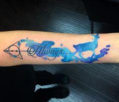 Amazing Creativity With Always Harry Potter Tattoo Design  #tattoos #harrypottertattoos #tattooideas