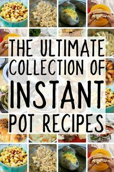 Everyone is trying to figure out how to use the instant pot electric pressure cooker and with this amazing collection of easy instapot recipes, you'll be set! If you're looking for instant pot recipes and Best Electric Pressure Cooker, Power Pressure Cooker, Instant Pot Pressure Cooker, Electric Cooker, Pressure Pot, Pressure Canning, Best Instant Pot Recipe, Instant Pot Dinner Recipes, Instant Recipes