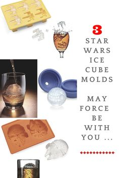 If you've grown up on Star Wars movies, you will love these incredible Star Wars theme ice molds. Which ones would you choose for your next party? Click on the picture to see them all.