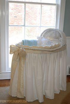 #DIY bassinet, baby cradle via LifeOn lyford