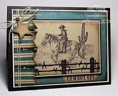 Cowboy up! From scrapbooking247.com