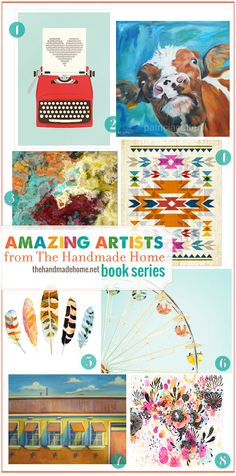 beautiful art for the home + the amazing new series you can find these incredible artists in