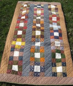 Civil War Soldier's Cot Quilt | Quilt, Soldiers and Civil wars : quilts for soldiers - Adamdwight.com