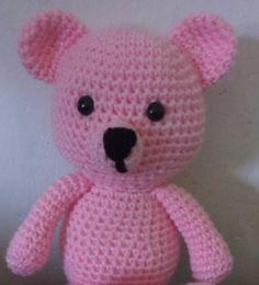 Stuffed Animals – Crochet Bear – a unique product by MadamLove on DaWanda Pattern designed by Sharon Ojala.
