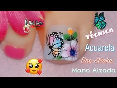 Merry Christmas Gif, Toe Nail Designs, Press On Nails, Toe Nails, Lily, Pedicures, Youtube, Designed Nails, Work Nails