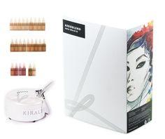 @Kiralee Hubbard's new *Aeroblend PRO Airbrush Makeup Pro Kit* looks awesome : )