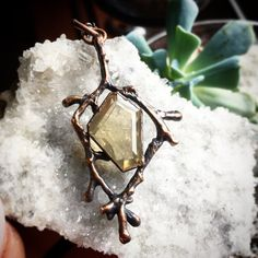 A personal favorite from my Etsy shop https://www.etsy.com/listing/470184126/15-carat-coffin-cut-citrine-pendant-in