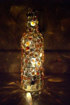 Mosaic Wine Bottle