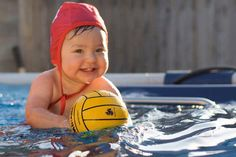 Water polo baby :) So sweet!