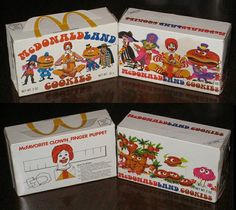 - McDonaldland Cookie boxes 1975 and 1972 side-by-side comparison Until I saw this picture, I had completely forgot about McDonald's cookies!Until I saw this picture, I had completely forgot about McDonald's cookies! My Childhood Memories, Sweet Memories, 90s Childhood, Mcdonalds, Ed Vedder, This Is Your Life, School Memories, 80s Kids, Oldies But Goodies