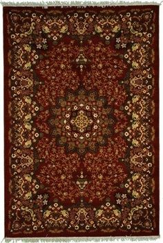 Persian carpets.