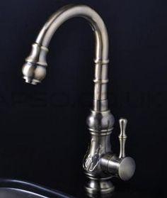 Designové retro kuchyňské baterie - http://www.water-fall.cz/cz/koupelnove-baterie-luxusni-kuchynske/baterie-skladem/