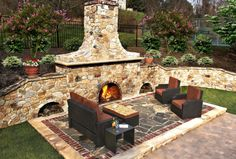 Discover DiSabatino Landscaping, providing superior landscape architecture and design services in Wilmington, Delaware. Call today for custom architectural landscape design. Landscape Architecture, Landscape Design, Wood Burning Fire Pit, Outside Patio, Fire Pit Backyard, Delaware, Outdoor Furniture, Outdoor Decor, Service Design