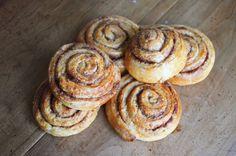Diy Food, Cinnamon Rolls, Doughnut, Biscuits, Blog, Muffin, Cooking, Breakfast, Desserts