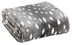 Pătură fleece FLINTSTEN 140x200 gri | JYSK