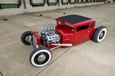 Jason Graham Hot Rods & Cool Customs - Red '31 Coupe