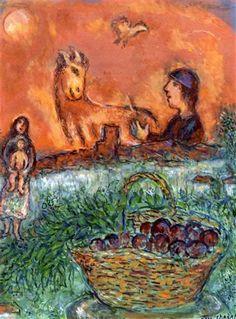 Marc Chagall - Maternité à St. Paul-de-Vence, 1972.