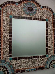 Southwestern #Mosaic Wall Mirror by MemoriesinMosaics  #mosaicmirrors #mosaicart
