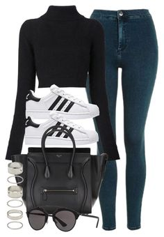 """Sin título #11989"" by vany-alvarado ❤ liked on Polyvore featuring Topshop, Balmain, Forever 21 and Christian Dior"