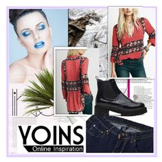 """""""YOINS 8/V"""" by damira-dlxv ❤ liked on Polyvore featuring yoins"""