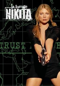 La Femme Nikita (1997) Luc Besson's 1990 hit film inspired this action-packed series about the gorgeous and lethal Nikita (Peta Wilson), who is falsely accused of murder and turned into a top spy by a clandestine organization that sends her on elaborate missions to capture terrorists. While struggling to regain her freedom, Nikita travels the world to apprehend the targets of her bosses at Section One, whom she suspects have a malicious agenda that jeopardizes all.