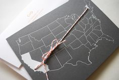 moving announcement / wedding invite