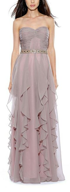 dusty blush dress