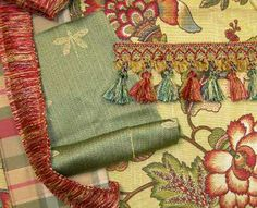 trims with fabric