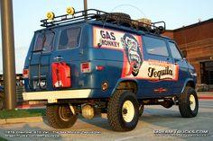 4x4 Van Picture Gallery 73 - Thunders Garage 4x4 Camper Van, 4x4 Van, Bus Camper, Chevrolet Van, Chevy Van, Expedition Trailer, Expedition Vehicle, Lifted Van, Gmc Vans
