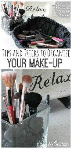 Lots of easy tips on how to organize your makeup as well as guidelines for when to toss old makeup. Beauty Care, Diy Beauty, Beauty Makeup, Beauty Hacks, Old Makeup, Skin Makeup, Makeup Tips, Household Organization, Makeup Organization