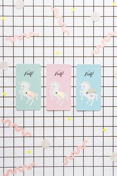 FREE printable Unicorn Invitation | Oh Happy Day!