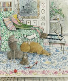 """""""The New Puppy,"""" by Sue Macartney-Snape"""