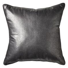 Nate Berkus Decorative Pillow - Silver. Target. $24.99