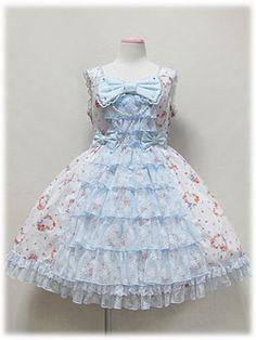 angelic pretty ハートローズレーシィジャンパースカート Japanese Streets, Japanese Street Fashion, Korean Ulzzang, Angelic Pretty, Dress Robes, Baroque Fashion, Lolita Dress, Pastel Goth, Harajuku