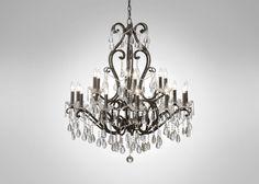 Whitney Slate Chandelier | Lighting Chandeliers