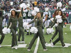 New York Jets Flight Crew: Jets vs Cardinals