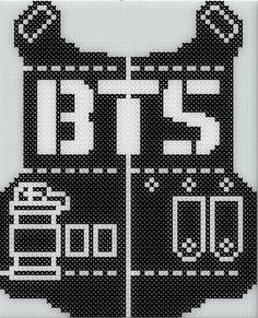 BTS Logo - Cross Stitch Pattern