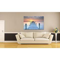 <ul><li>Artist: Keller</li><li>Title: The Pier</li><li>Product type: Gallery-wrapped canvas art</li></ul>