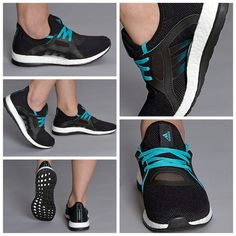 abeed6f7a6bc7 adidas Womens Pureboost X - Core Black Shock Green  Core Black قیمت  تومان