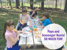 Pops and Scavenger Hunts! So Much Fun! #WhereFunBegins #Ad