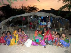 Sauji Nath, The Snake Charmer's family, Vadipara, Dhrangadhra, Gujrat, India