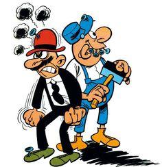 Pepe Gotera y Emilio.