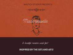Mademoiselle Script Typeface (FREE)